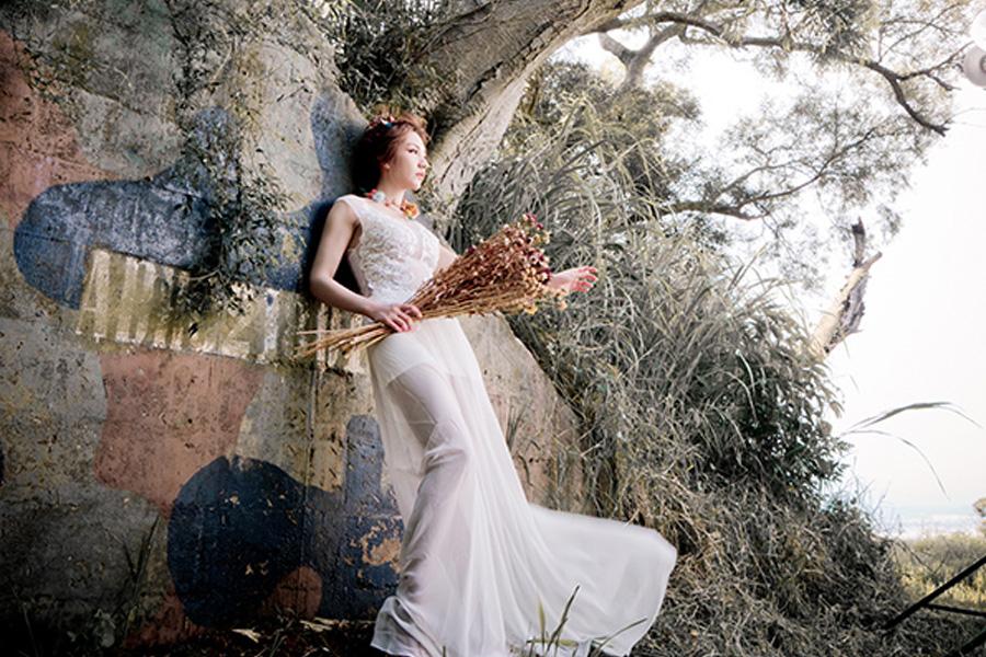 <span>旅行</span>婚紗外拍-碉堡