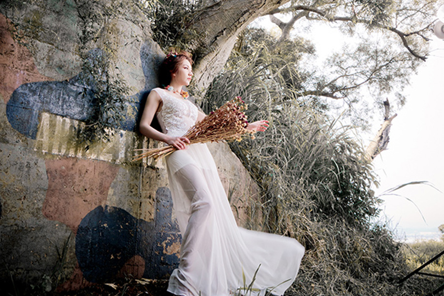 <span>婚禮</span>婚紗外拍-碉堡
